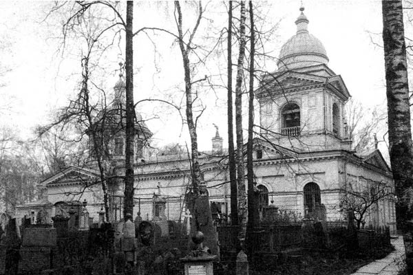 История Большеохтинского кладбища